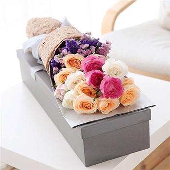 情人节鲜花-缤纷可爱